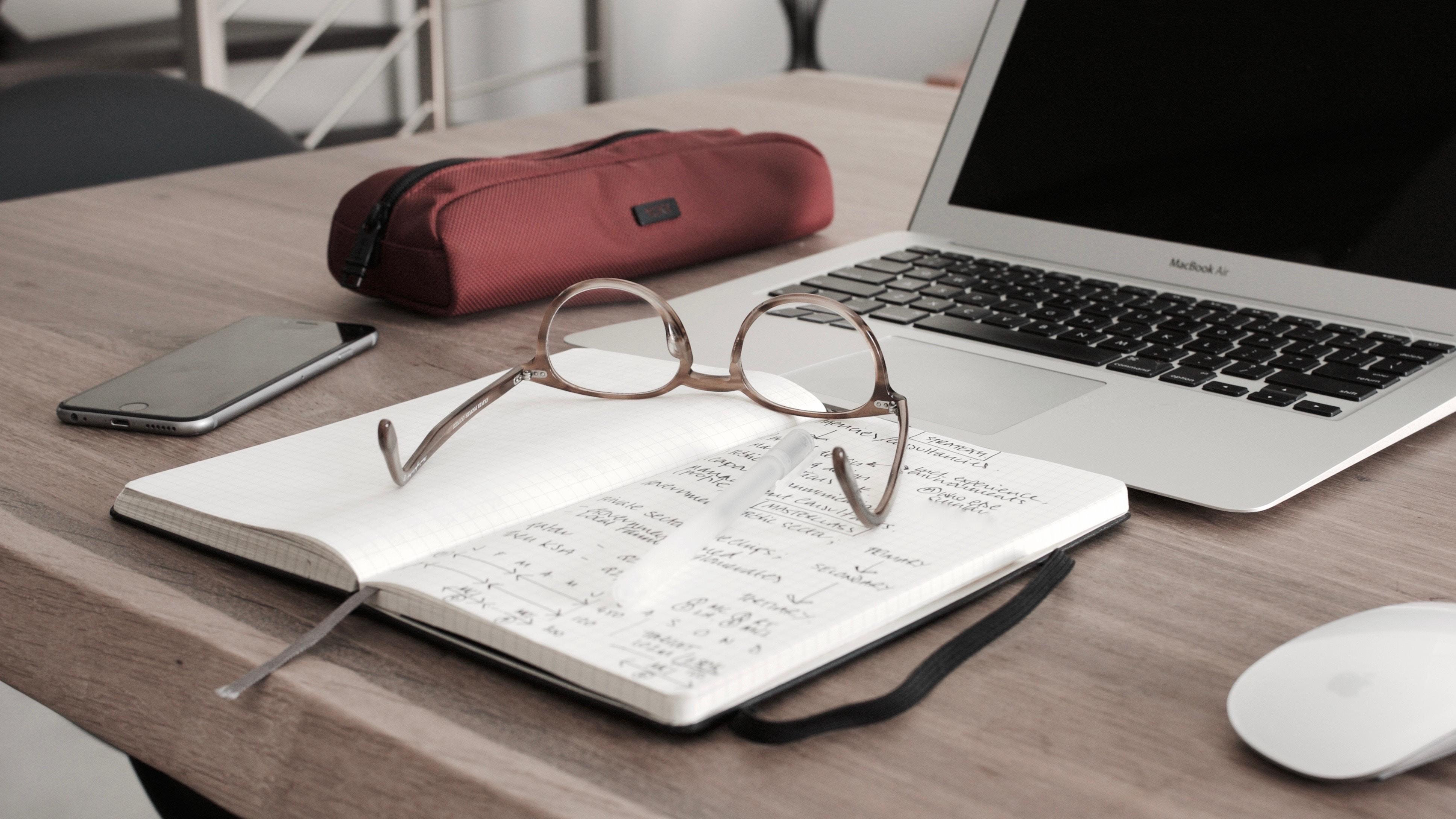 book-glass-laptop