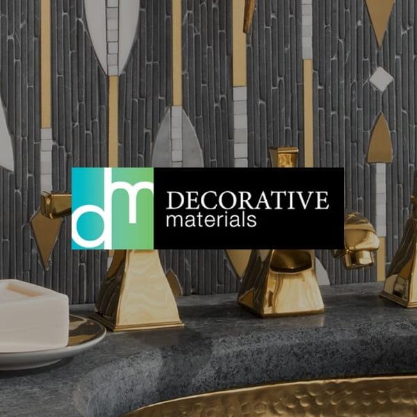 Decorative Materials Logo